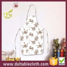 Wholesale bib style Disposable washable plastic cooking apron