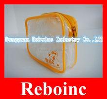 Beautiful ladies photo printing pvc cosmetic bag