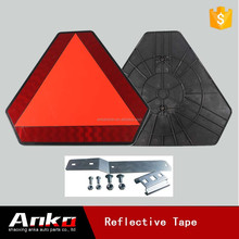 warning triangle kit, car triangle warning reflectors, red triangle reflector