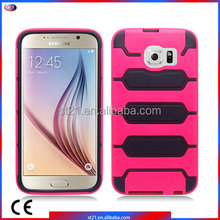 Innovative China Suppliers Smartphone Accessories Tanks Armor Hybrid Cover Mobile Phone Case For Samsung Galaxy S6 G920