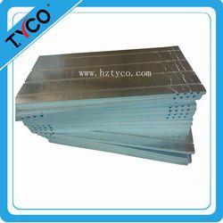 Aluminum foil covered underfloor heating panel