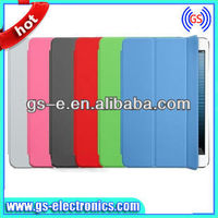For Apple iPad 2 Mini with Retina Display New Arrival Magnetic Ultra Thin PU Leather Smart Cover Case with Sleep Function