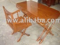 Writing Desk Solid wood (Nepolean Table)