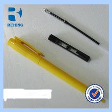 Fashion design cheap ball pen with retractable mechanism, Mini pen for promotion, slim hotel pen