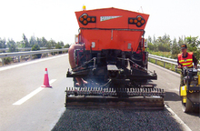 Hot-in-Place Recycling Asphalt Road Maintenance Vehicle