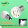 Sanyou 12V 5050 6SMD car LED turn and brake light, 6000k 1157 1156 auto LED signal lamp