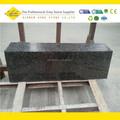 Caledónia dark passo escada de cobre, escada de granito