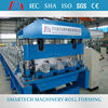 Floor decking sheet profile cold roll forming machine