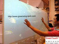 55inch touch foil touch accuracy glass projector touch film foil