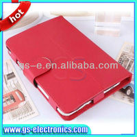 Flip leather case for 7 inch tablet pc with stand function case