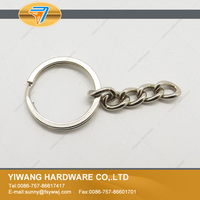 10 years manufacturer direct promotional detachable keyring