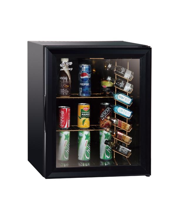 Xc 38 2 Black Glass Door With Bottle Shelf Jpg