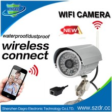 720P 2 pcs Array Waterpoof Network Wirless Security Camera, Long Range IR Distance IP Camera Outdoor