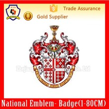 National Gallery of Coats of Arms,China factory custom-made large shield for volume production (HH-emblem-012H)