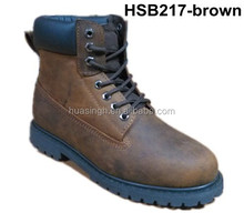 SY,Steel toe and midsole high quality leather long wearing industry boots safety protection