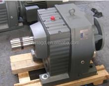 R Serial helical gear box shaft drive