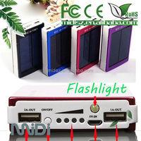 Solar power bank solar charger for mobile phone solar battery 10000mah