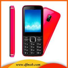 Ultra Low Cost 2.4 Inch Screen Spreadturm 6531DA GPRS/WAP Quad Band Dual SIM Card Good Quality GSM Tecno Cell Phones G1011