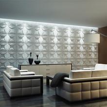 Embossed decorative 3d wallpaper