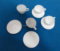 TV933-012 Best-selling silicone afternoon tea cupcake with saucer