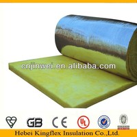 Top grade glass wool/steel stucture building insulation material with aluminum foil