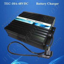 High efficiency 10a ac 220v 230v 240v to dc 48v smart battery charger