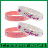 Clear custom cheap sport silicone wrist band for event