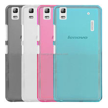 2015 New design pudding soft tpu back cover Case back cover for lenovo k3 note made in china