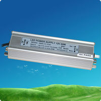 50W waterproof 12v constant voltage led driver ,24v led transformer