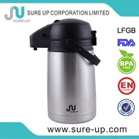 Hotel large plastic cap water containers mini vacuum flask thermos coffee pot(ASUR)