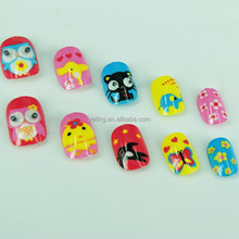 2015 new style animal pictures children's nail art