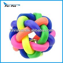 Novelty Colorful Soft Dog Training Rattles Pet Toys