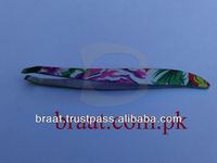 2014 best design stainless steel eyebrow tweezers ladies eyebrow tweezers