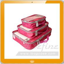 foldable mesh nylon packing bag for luggage