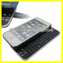 Sliding Mini Wireless Bluetooth Keyboard for iPhone 5 Keyboard Case for iPhone 5 Black