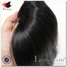 Wholesale Best Quality Virgin Indian Remy Machine Weft Single Drawn 3A Humanhair Extension