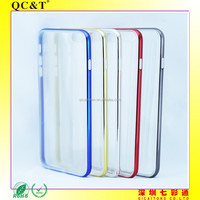 Model phone New design Ultrathin TPU and PC electropalting Case for Apple 6G
