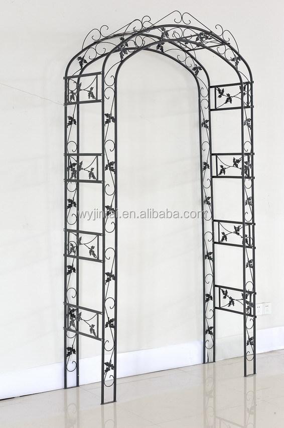 Decorativo ferro forjado ao ar livre rosas jardim arco for Arco decorativo giardino