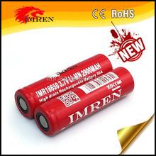 Good News! imren 2900mah 30amp high drain 18650 rechargeable e-cig mod battery