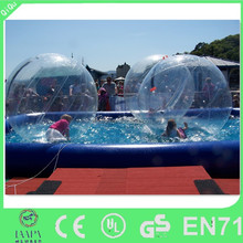 pvc & tpu materials available inflatable water walking ball price, water walking ball for sale