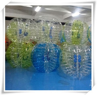 2015 High Quality 1.5m TPU Interesting Bubble Football Cheap Bubble Football Equipment For Sale