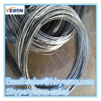 high quality and low price electro galvanized iron wire / bind wire
