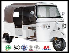 New Design 200cc 250cc Mini Passenger Tuk Tuk Motorized Tricycles With CE in Mali