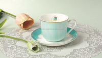 wholesale quality bone china modern fine tea cup saucer sets