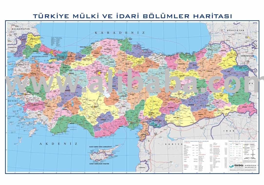 Pavo mapa político