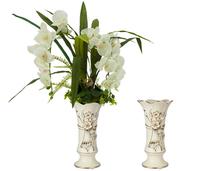Lily barato antiguo decoración florero