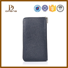 large multi level genuine leather smartphone wallet for women