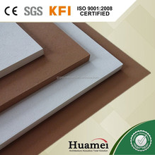 600*600 types of acoustic ceiling board/wall covering panels