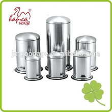 Wholesale Round Shape Stainless Steel Step Pedal Bin With Dome Lid From 3L-30L Satin Finished