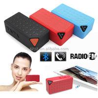 New Portable mini X3 Bluetooth speaker with Mic wireless bluetooth speaker for iPhone iPad Samsung